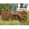 供银川碳化木家具大连是木桌椅潍坊户外凉亭吉林公园椅