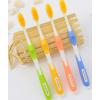 直销牙刷地摊货源送广告录音韩国纳米牙刷健康柔软16克金牙刷