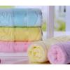 凯靓 竹纤维毛巾高档素色提花无捻材质成人面巾除螨抑菌毛巾厂