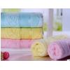 竹纤维毛巾 高档素色提花无捻材质成人面巾 除螨抑菌 毛巾