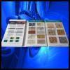 多彩漆色卡、多彩漆样板册、水包水多彩漆色卡