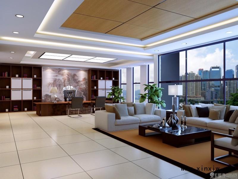 郑州办公室装修///办公室吊顶///办公室打隔断