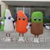 来图定制卡通人偶服装成人卡通服装雪糕冰淇淋行走人偶
