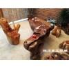 优质木雕茶几根雕古典家具根雕狮子图片