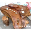 简易树根茶几根雕古典家具精品木雕貔貅
