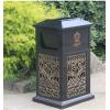 铁艺垃圾桶户外铁皮分类垃圾箱欧式公园环卫铸铝铁广场小区果皮箱