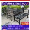 户外园林休闲椅铁艺公园椅小区广场长条双人排椅铸铝长椅子庭院凳