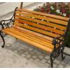 防腐木户外园林休闲椅实木长椅靠背椅阳台长条椅子室外长椅公园椅