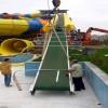 浩宇定制水上产品 水上乐园滑梯 水上皮筏输送线 多种型号供应