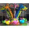 伊童乐现货供应中高品质的新型儿童游乐设备长颈鹿飞椅