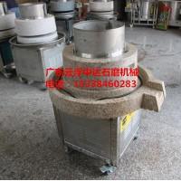 石磨豆腐机设备达移动式设计、现场磨浆展示