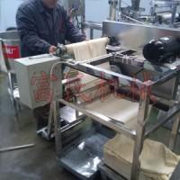 安国 仿手工豆腐皮机 专业生产豆腐皮机器的厂家 豆制品设备生产厂家