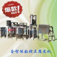 卫辉 豆腐皮机的现场操作视频 豆腐皮机的生产过程图片及流程