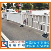 武汉广场隔离护栏 武汉广场道路广告护栏龙桥专业订制