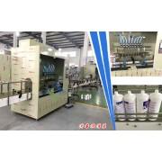 84消毒液灌装机/八头液体自动灌装机/防腐蚀液体灌装机