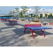 石家庄家用带轮乒乓球桌生产加工厂家用乒乓球台品质有保障