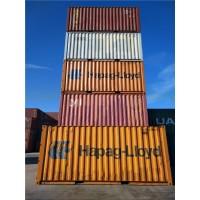 天津港销售20英尺40英尺集装箱 标准海运箱 集装箱改造房等