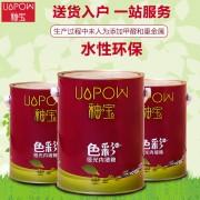 供应UP-1601Y色彩哑光内墙釉宝水性环保深色调色基料
