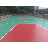 硅pu篮球场报价 运动场地硅pu塑胶篮球场地材料施工