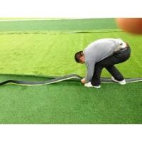 南宁厂家直销户外人工草坪标准足球场施工 人工草坪定做批发