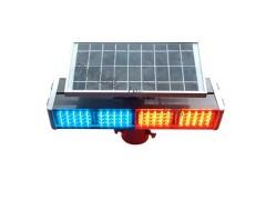公路太阳能爆闪灯 双面警示灯报价
