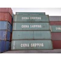 天津港二手集装箱 海运集装箱 出口自备箱 冷藏箱长期供应