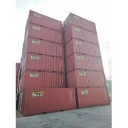 天津港二手集装箱出售 海运集装箱 自有箱 箱房改造等