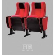 胶壳礼堂椅厂家,会议室配套会议椅,带写字板会议椅