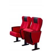 带写字板礼堂椅,优质礼堂椅,带网兜礼堂椅