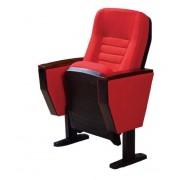 胶壳礼堂椅价格,绒麻面料礼堂椅,会议报告厅椅