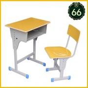 南宁厂家供应中小学生课桌椅 培训课桌椅 单 双人课桌椅批发
