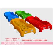 厂家直销幼儿园上下铺实木床 塑料叠叠床支持定做批发
