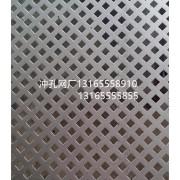 304不锈钢洞洞板 不锈钢方孔板 耐腐蚀穿孔板
