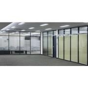 西青区专业安装办公室玻璃隔断厂家,玻璃高隔