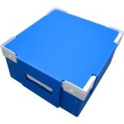 南京瓦楞板垫片 蓝色周转箱
