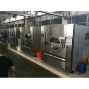 兰州市出售二手航星100公斤洗脱机二手布草洗涤设备