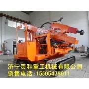 山东贵和打桩机厂家 最新履带式打桩机价格 质保一年