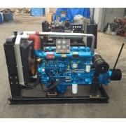 R6105AZLP 165马力粉碎机配离合器皮带轮用柴油机