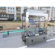 十二头直流式酱油灌装机、12头液体灌装生产线值得拥有