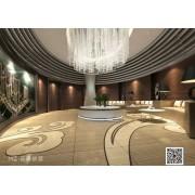 景德镇大型酒店专用瓷砖 高端大气仿地毯砖