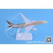 波音B787 阿提哈德航空 金属飞机模型