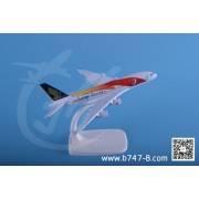 空客 A380 新加坡航空彩绘机 金属飞机模型 工艺品