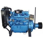 合肥K4100P柴油机 40kw50马力抽沙船粉碎机用发动机