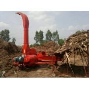 供应10吨大产量青贮铡草碎草机 三相电牛羊牧草铡草机
