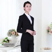 长沙职业装定制职业装女套装夏季