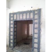 武清区梅厂镇混凝图承重墙开门粘钢加固