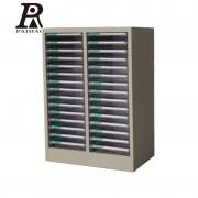 扬州30抽A4文件柜ps透明材质防滑抽屉资料柜收纳柜可定制