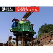 广东沃力设备-新型制砂机粒型美观