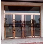 朝阳区安装玻璃门隔断 三元桥安装玻璃门