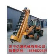 建筑小型打桩机电线杆挖坑机 济宁挖坑机